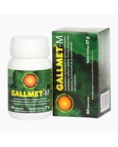 Gallmet-M gyógynövény kapszula 60x