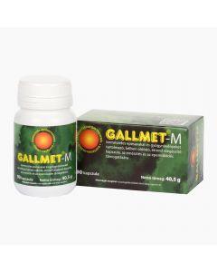 Gallmet-M gyógynövény kapszula 90x