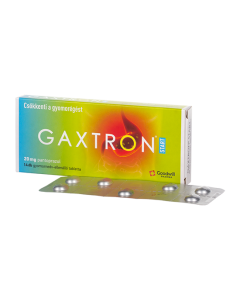 Gaxtron Start 20 mg gyomornedv-ellenálló tabletta 14x