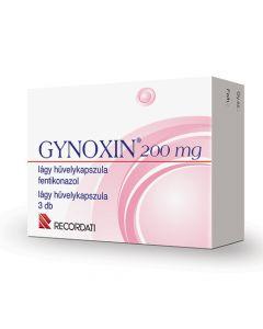 Gynoxin 200 mg lágy hüvelykapszula 3x