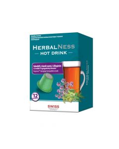 HerbalNess Hot Drink C vitaminal italpor 12x
