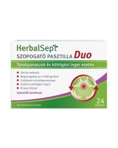 Dr.Theiss HerbalSept Duo pasztilla kakukkfű 24x