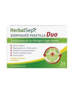 Dr.Theiss HerbalSept Duo pasztilla Kamilla 24x