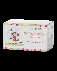 Herbária babamosoly gyermek borítékolt filteres tea 20x