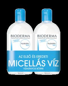 BIODERMA Hydrabio H2O arc és sminklemosó micellás víz DUO 2x500ml