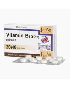 JutaVit B6-vitamin 20 mg tabletta 30x