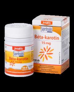 JutaVit Béta-karotin 15 mg kapszula 100x