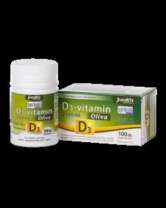 JutaVit D3-vitamin 2500NE Oliva kapszula 100x