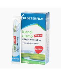 Klosterfrau Izlandi zuzmó szirup tasakban 10x10ml