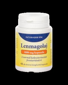 INTERHERB lenmagolaj kapszula E-vitaminnal 48x