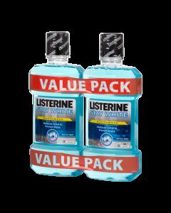 Listerine Stay White DUO szájvíz 2x500ml