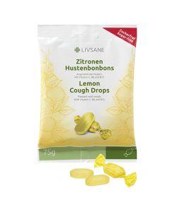 Livsane Citrom ízű cukorka 75g