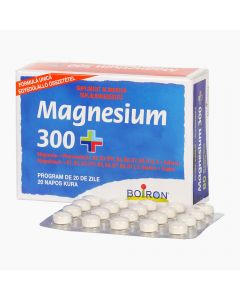 Magnesium 300+ tabletta BOIRON 80x