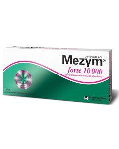 Mezym forte 10 000 egység gyomornedv-ellenálló filmtabletta 20x