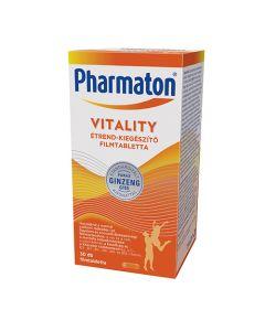 Pharmaton Vitality étrend-kiegészítő filmtabletta 30x
