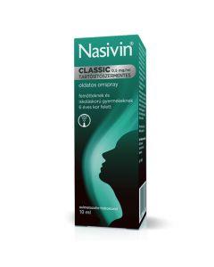 Nasivin Classic 0,5mg/ml tartósítószermentes oldatos orrspray 10ml