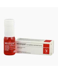 Nitrolingual 0,4 mg/dózis nyelvalatti spray 1x14,2g