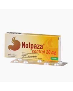 Nolpaza Control 20 mg gyomornedv-ellenálló tabletta 14x