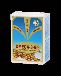 DR.CHEN Omega-3 és 6-9 E-vitamin kapszula 30x