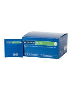 Orthomol Fertil L-karnitin, koenzim Q10 és Omega-3 zsírsav tartalmú étrend-kiegészítő tabletta és kapszula 30x