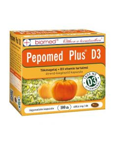 Biomed Pepomed Plus D3 vitamin kapszula 100x