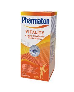 Pharmaton Vitality étrend-kiegészítő filmtabletta 100x