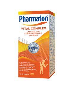 Pharmaton Vitality étrend-kiegészítő filmtabletta 60x