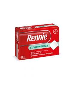 Rennie cukormentes rágótabletta 36x