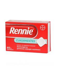 Rennie cukormentes rágótabletta 60x | BENU Gyógyszertár Webshop