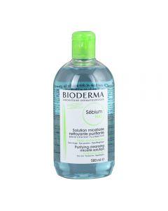 BIODERMA Sébium H2O arc-és sminklemosó micellás víz 500ml