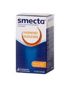 Smecta 3 g por szuszpenzióhoz 10 tasak | BENU Gyógyszertár Webshop