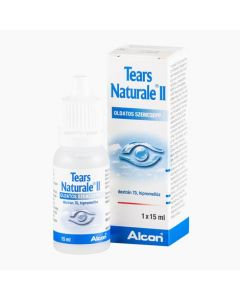 Tears naturale II. oldatos szemcsepp 15ml