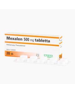 Teva-Mexalen 500 mg tabletta 20x
