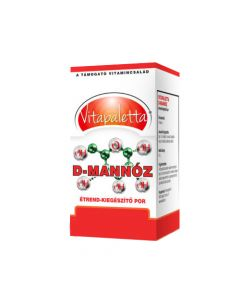 Vitapaletta D-mannóz por 60g