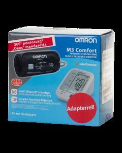 OMRON M3 Comfort automata vérnyomásmérő és adapter