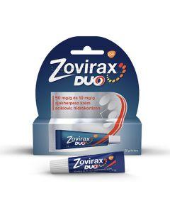 Zovirax Duo 50mg/g+10mg/g krém ajakherpeszre 2g