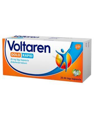 Voltaren Dolo Rapid 25 mg lágy kapszula 20x