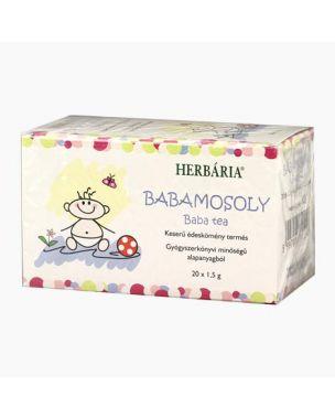 HERBÁRIA filteres borítékolt babamosoly tea 20x