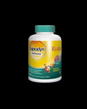 Supradyn Immune Kids gumivitamin narancs-eper ízű 100x