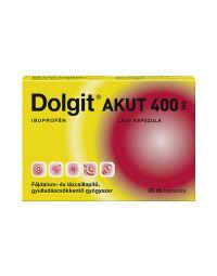 Dolgit Akut 400 mg lágy kapszula 20x