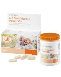 LIVSANE Multivitamin A-Z 50+ retard tabletta 60x