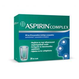 Aspirin Complex 500 mg/30 mg granulátum belsőleges szuszpenzióhoz 20x  | BENU Gyógyszertár Webáruház